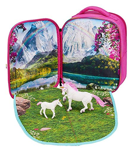 Animal Planet Mojo Unicorn Fantasy 3D Backpack Playset Unisex Three Years A