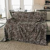 Graced Soft Luxuries Throw Blanket Fleece Minky Microfiber Soft Throw (Leopard, XL Throw   Twin Size 60' x 80')