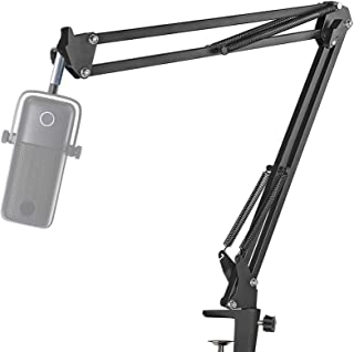 Elgato Wave 1 Microphone Boom Arm Stand - Professional Studio Mic Stand for Microphones, Swivel Mount Compatible with Elga...