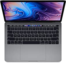 "Apple 13.3"" MacBook Pro w/Touch Bar (Mid 2019), Intel Core i5-8279U 2.4GHz, 256GB PCI-E SSD, 8GB DDR3, 802.11ac, Space Gra..."