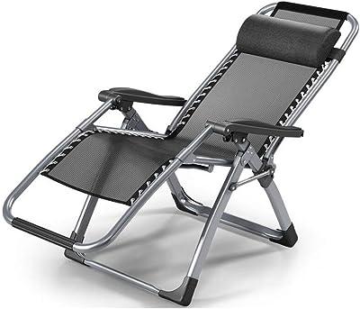 Amazon.com: Tenozek Folding Beach Lounge Chair, Portable ...