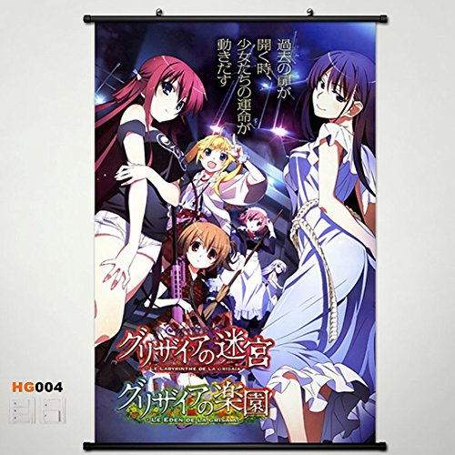 Home Decor Anime The Fruit of Grisaia Amane Suou Yumiko Sakaki Michiru Matsushima Makina Irisu Sachi Komine Whole Role Wall Scroll Poster Fabric Painting 23.635.4 inch b2 4