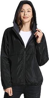 iLoveSIA Womens Fleece Lined Hooded Jacket