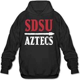 Boom~Shakalaka San Diego State Aztecs Logo Men Long Sleeve Fleece Hoodie