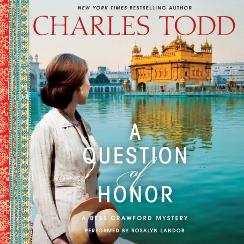 A Question of Honor audiobook cover art