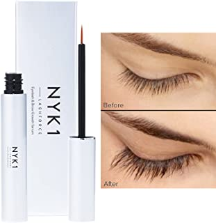 NEW NYK1 Lash Force Growth Serum - The One That Really Works! For Extreme Length & Volume Brows And Lashes. Extra Fill 8Ml...