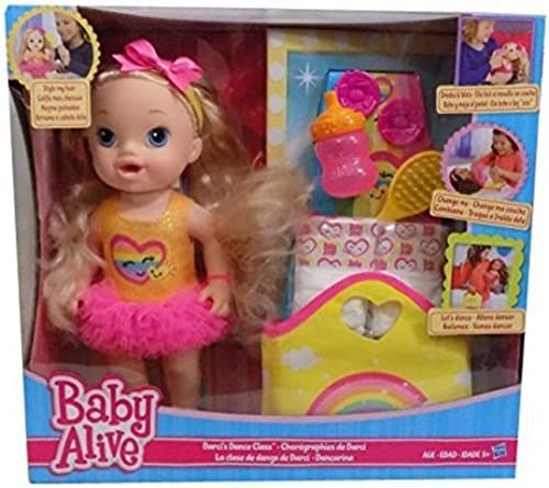 Baby Alive - Darcis Dance Class - Blonde Hair Doll by Hasbro
