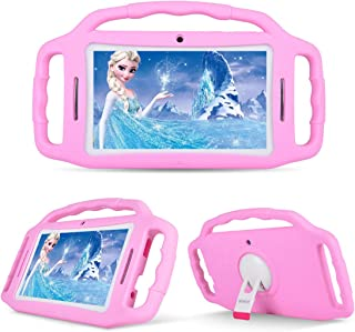 BENEVE Kids Tablet,Android Tablets for Kids,7'' HD Eye Protection Screen Toddler Tablet,Children Tablet,1GB+8GB,WiFi, Dual Camera, Bluetooth, Educational,Kid Mode,Parental Control (Pink)