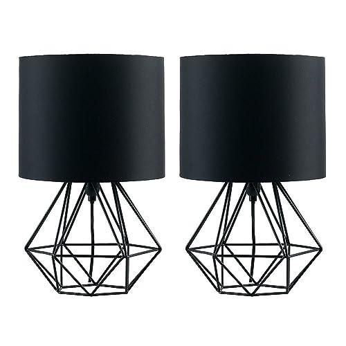 Black Bedside Lamp: Amazon.co.uk
