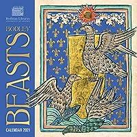 Bodleian Library - Bodley Beasts Wall Calendar 2021 (Art Calendar)