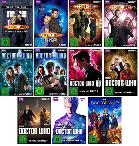 Doctor Who - Staffel 1-11 (63 DVDs)