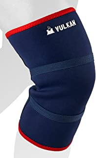 Vulkan Classic Neoprene Knee Support, Breathable Contoured Compression Sleeve, Support & Stability, Ideal for Knee Injuries, Sprains, Strains, Tendon & Ligament Injuries, Small, 5 mm, Old Style