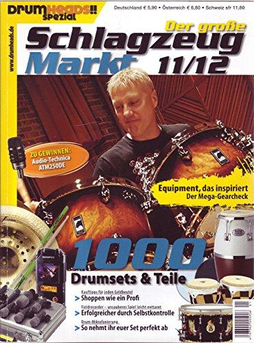 Der große Schlagzeug Markt 11/12 - Drum Mikrofonierung - Fieldrecorder - Kauftipps