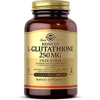 Solgar – Reduced L-Glutathione 250 mg, 60 Vegetable Capsules