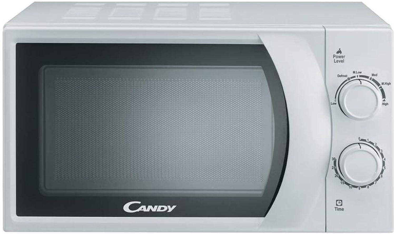 Candy CMW2070M Horno Microondas Potencia 700W capacidad 20l) Color blancoo