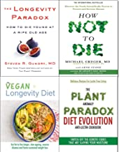 How Not To Die, Longevity Paradox [Hardcover], Vegan Longevity Diet and Plant Anomaly Paradox Diet 4 Books Collection Set