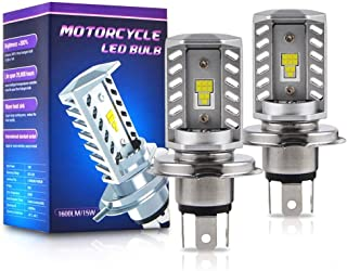 TLU-Kaxu - LED Headlight Bulbs for Honda Goldwing 1100 1200 1500 Grom Interceptor VF700C VT750 Nighthawk Shadow XR650L VTX1800 1300 VFR800