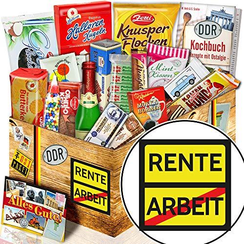 Rente - Ostalgie Box - Ruhestand Geschenk Frauen