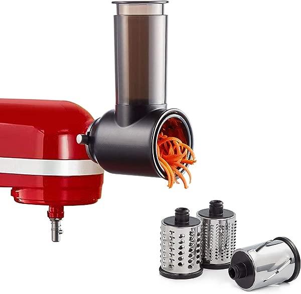 KitchenAid Stand 搅拌器蔬菜切碎机刨丝器配件沙拉制造商