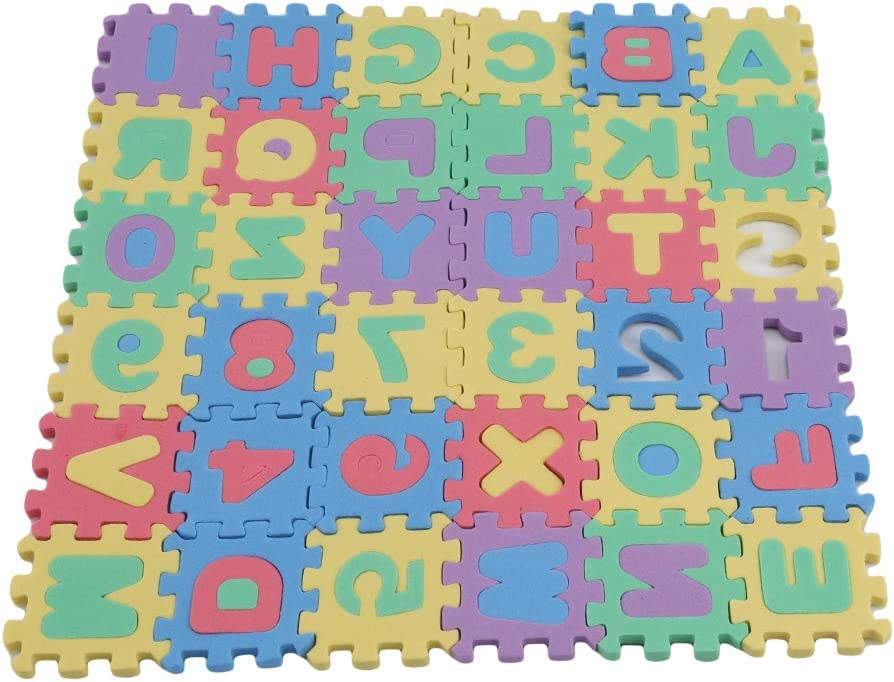 Timetries outlet Non Toxic Play Mat for excellence Th Foam Toddlers Puzzles Kids -