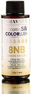 Pravana ChromaSilk ColorLushデミグロス - クリームブリュレ/ 8NB
