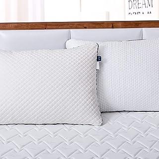 BedStory 高反発枕 安眠 人気 まくら 仰向き横向き 首・頭・肩をやさしく支える 暖かい枕 ふわふわ枕 柔らかい枕 通気性抜群 洗濯機対応 抗菌防ダニ低刺激 43×63CM
