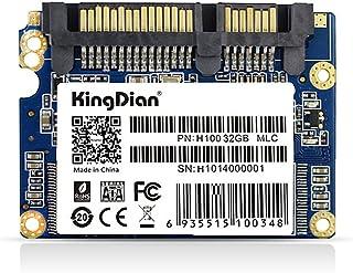KingDian 1.8 inch Half Slim SATII 8GB 16GB 32GB for POS Game Advertising Machine Thin Client Machine (H100 32GB)
