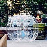 OldFe 1.5M Bumper Ball Umano Criceto Palla Gonfiabile Gorgogliatore Palla da Calcio per Scuole Parti attività O Tempo Libero
