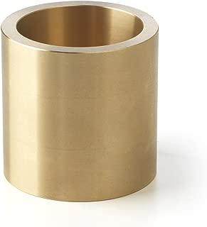 Bunting Bearings CB081012 Sleeve (Plain) Bearings, Cast Bronze C93200 (SAE 660), 1/2