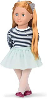 Our Generation BD31104Z Arlee Doll with Striped Top and Tutu