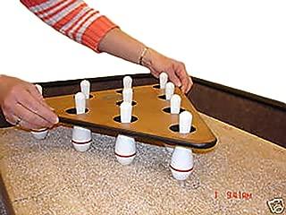 Shuffleboard Bowling Pins and Pinsetter
