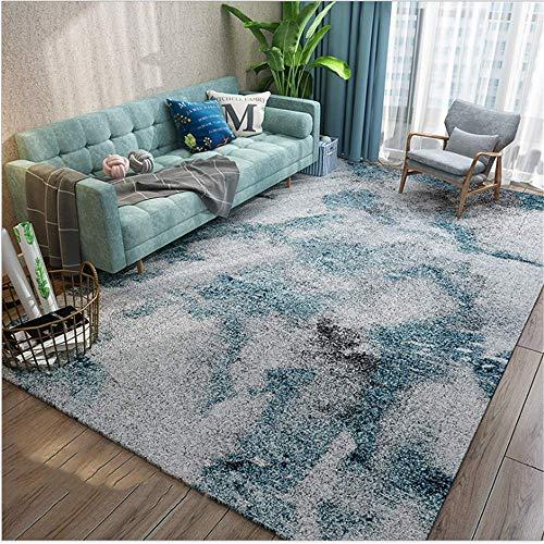 MLKUP Teppich Wohnzimmer Ausgefallene Farbkombination/Größe:140x200cm