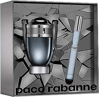 paco rabbane Invictus Intense Eau De Toilette, 50 ml+10 ml Travel Spray Set