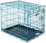 Petmate 21930 Puppy 2 Door Training Retreat, 24-Inch, Blue