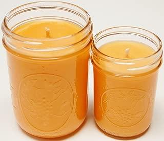 Homemade 8oz & 16oz Mason Jar Soy Candle - Mango and Tangerine