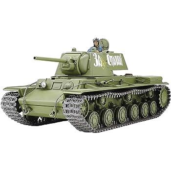 タミヤ 1/35 ミリタリーミニチュアシリーズ No.372 ソビエト重戦車 KV-I 1941年型 初期生産車 プラモデル 35372