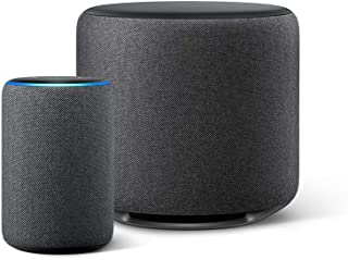Echo Plus (エコープラス) 第2世代, チャコール + Echo Sub (エコーサブ)