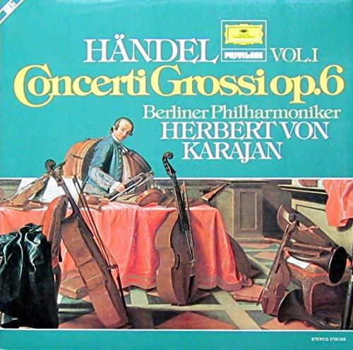 Händel: Concerti grossi op. 6 (Vol. 1) [Vinyl LP] [Schallplatte]