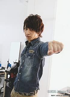 藤井流星(ジャニーズWEST) 公式生写真/KANSAI Johnny's Jr. 2011・カメラ目線・手グー・口閉じ