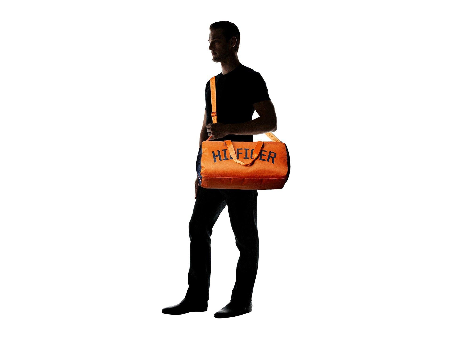 Bolso de Lona para Hombre Tommy Hilfiger Zachary Duffel Nylon  + Tommy Hilfiger en VeoyCompro.net