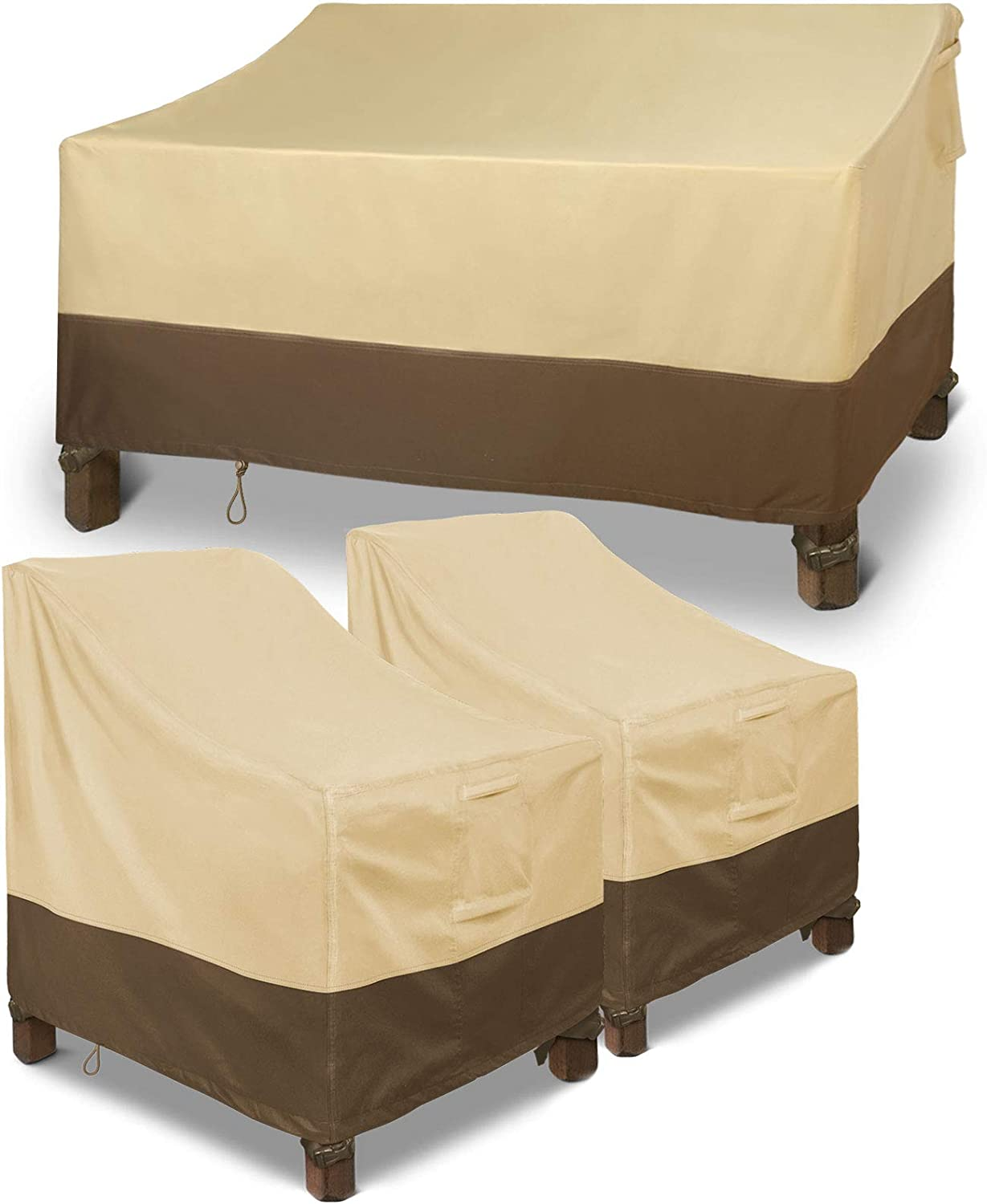 Patio Manufacturer direct delivery Loveseat Cover 58
