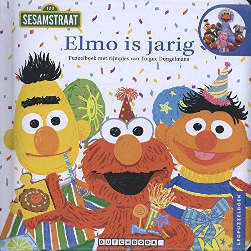 Elmo is jarig: puzelboek met rijmpjes (Sesamstraat)