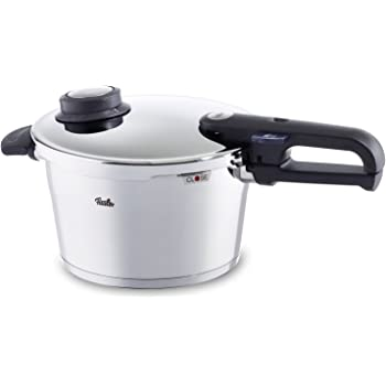 フィスラーFissler vitavit プレミアム 圧力鍋 4.5L IH対応 蒸し器付き 【輸入品】