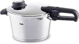 Fissler Vitavit Premium Olla a presión, 22 cm, Para todo tipo de cocinas, 4.5 litros, Acero Inoxidable