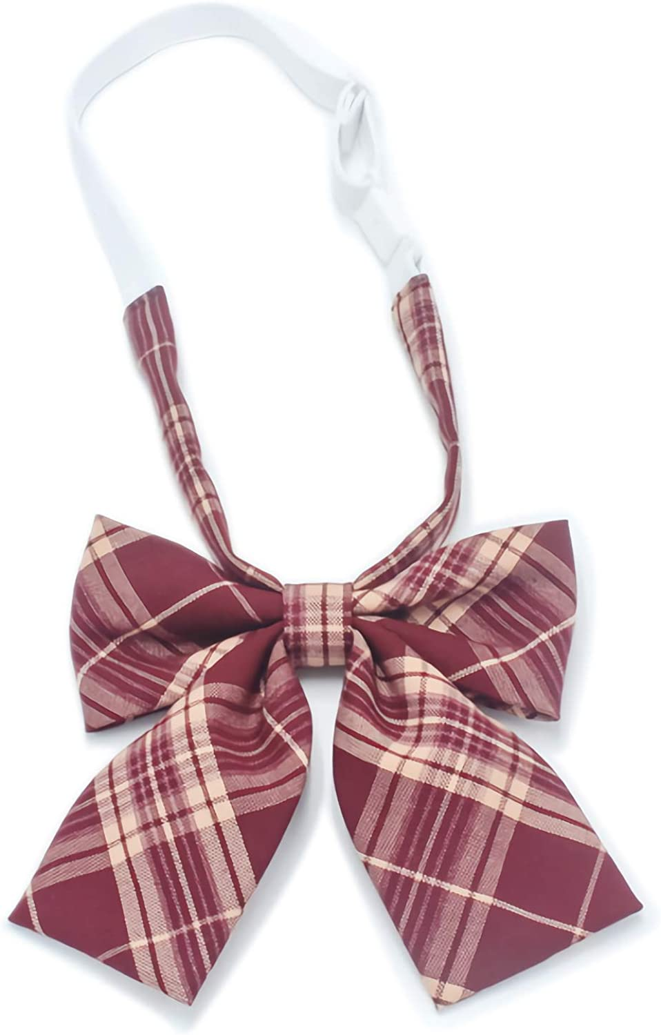 Length Adjustable Bow Tie Boys Soft Double Layered Bow Tie for Suit Uniform