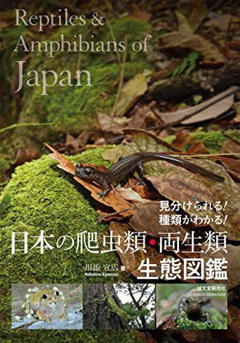 日本の爬虫類・両生類 生態図鑑amazon参照画像