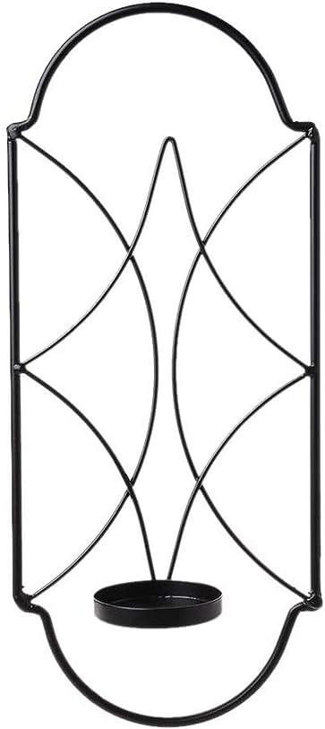 マオリ勝利したアクセスできない壁に取り付けられた燭台キャンドルホルダーメタルアイアンアートキャンドルハンギングローソク足ホルダー家の装飾ティーライトキャンドルスタンド