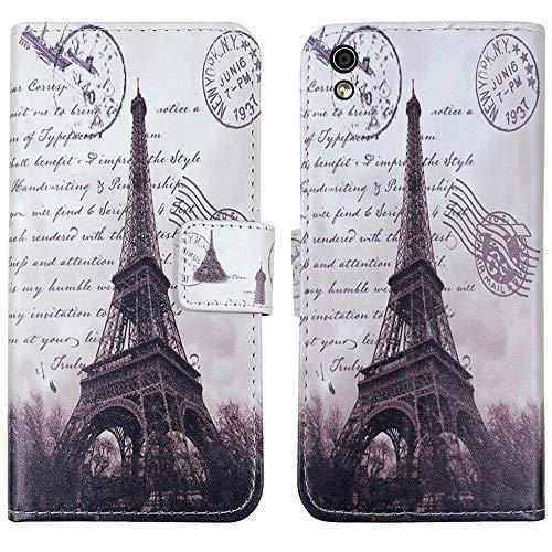 QHTTN Flip Leder Tasche Hülle Für Medion Life X5004 MD 99238 5