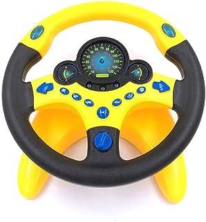 Lenkrad Lernspielzeug Simulation Licht Musik Lenkrad Spielzeug Baby Fahrer Kinderwagen Spielzeug Fr/üherziehung Infant Play