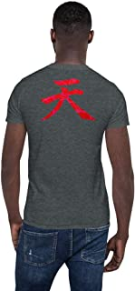 Raging Demon Akuma Heaven Kanji Street Fighter Unisex T-Shirt